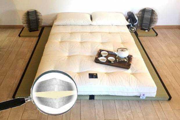 Pack Tatamis +  Futon Confort Mousse HR