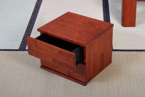 Chevet cube 2 Tiroirs