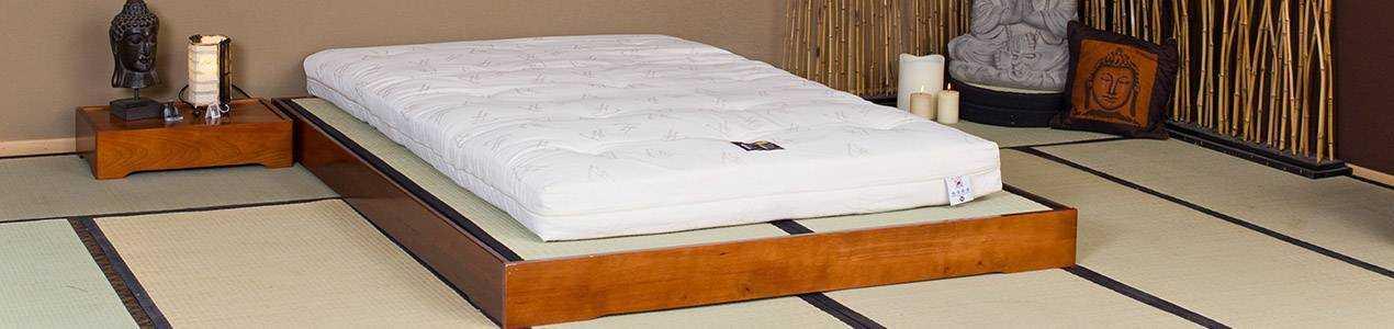 Lit en bois et lit japonais optez pour un lit original et pas cher !